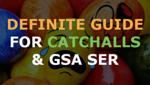 Definite Guide for Catchalls & GSA Search Engine Ranker