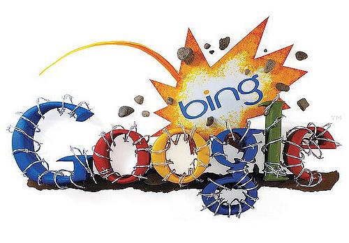 Bing Challenging Google